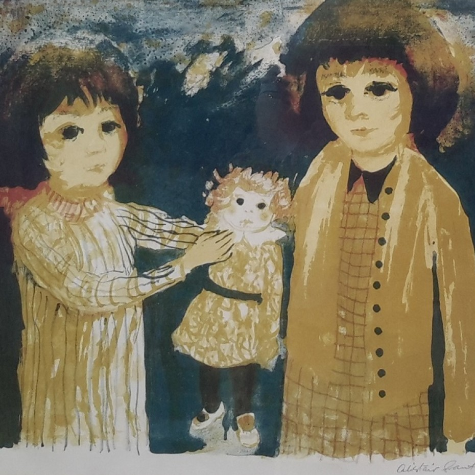 Alistair Grant - Two Girls and a Doll