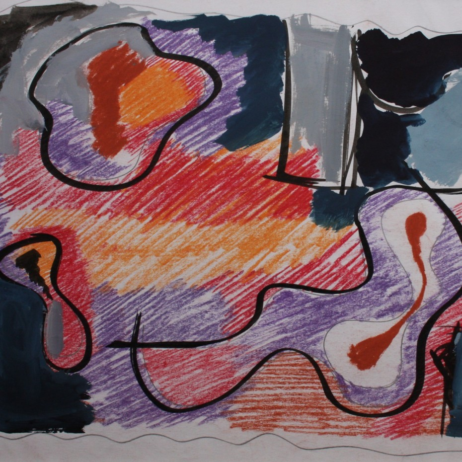 Anthony Benjamin - Untitled Abstract