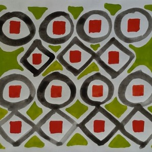 Anthony Benjamin - Untitled - Eight Circles 1962