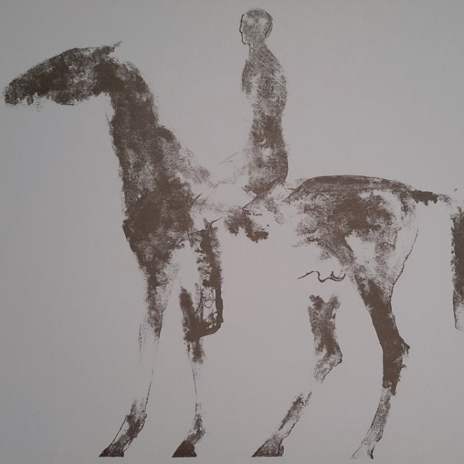 Elisabeth Frink - Small Horse and Rider