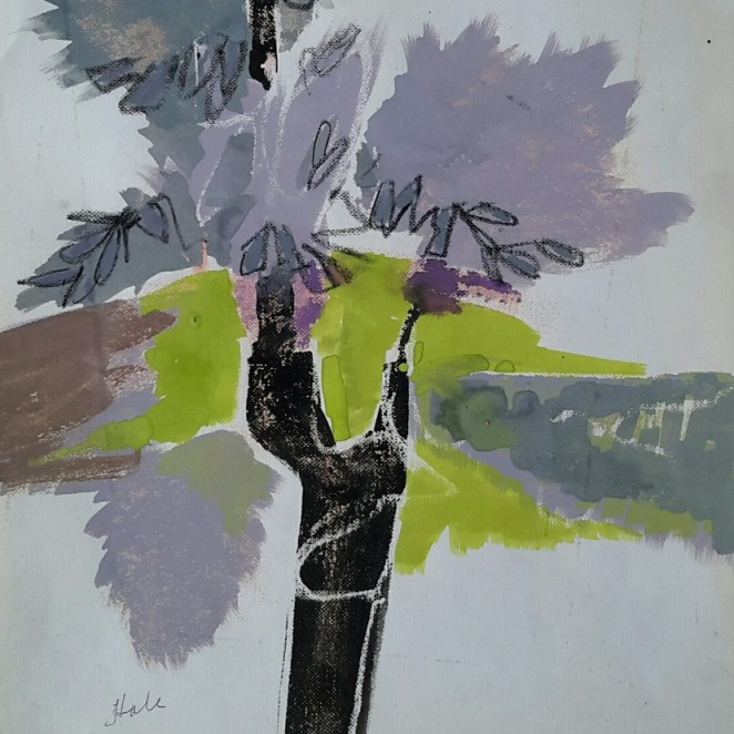 Helen Hale - Landscape with Tree