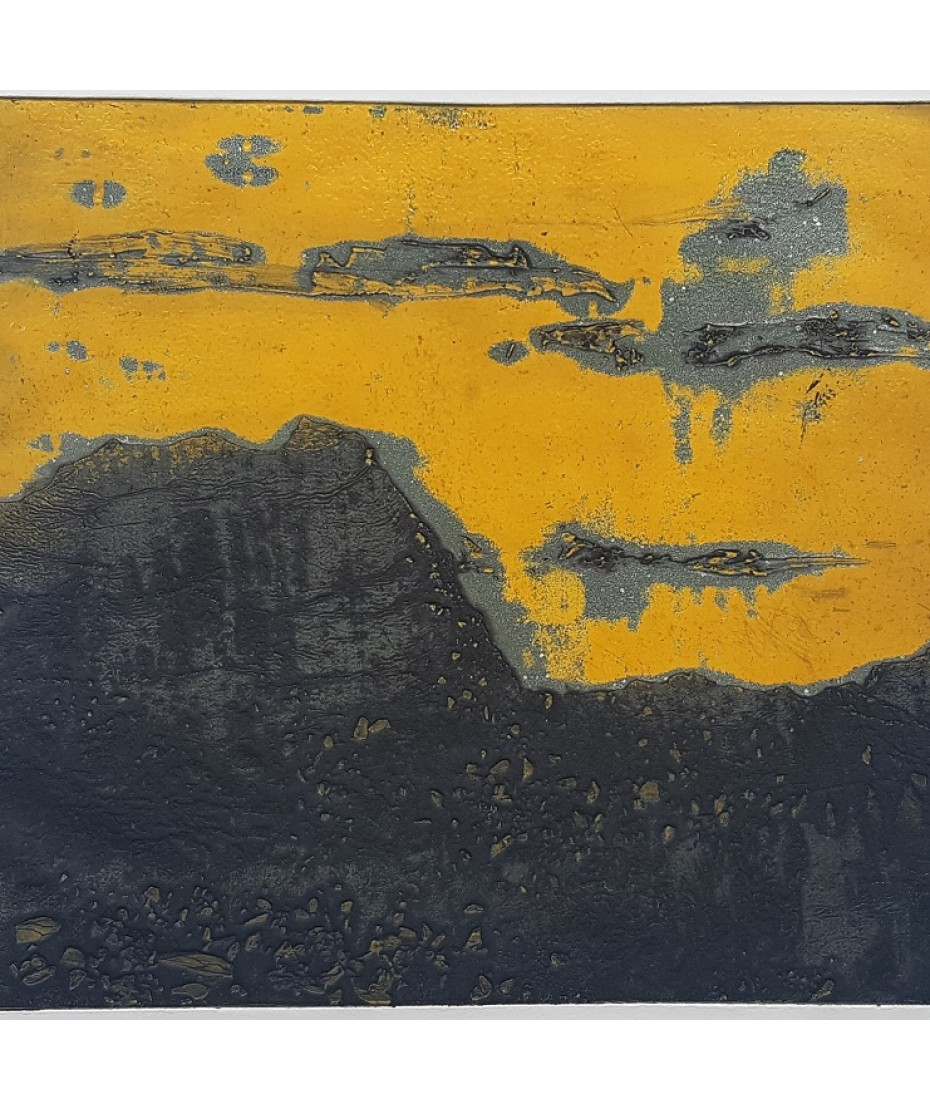 Lewin Bassingthwaighte  - Landscape - Yellow and Black