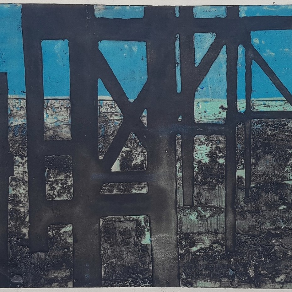 Lewin Bassingthwaighte  - Untitled (Blue)