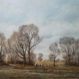 Nicholas Mace - Landscape with Cattle