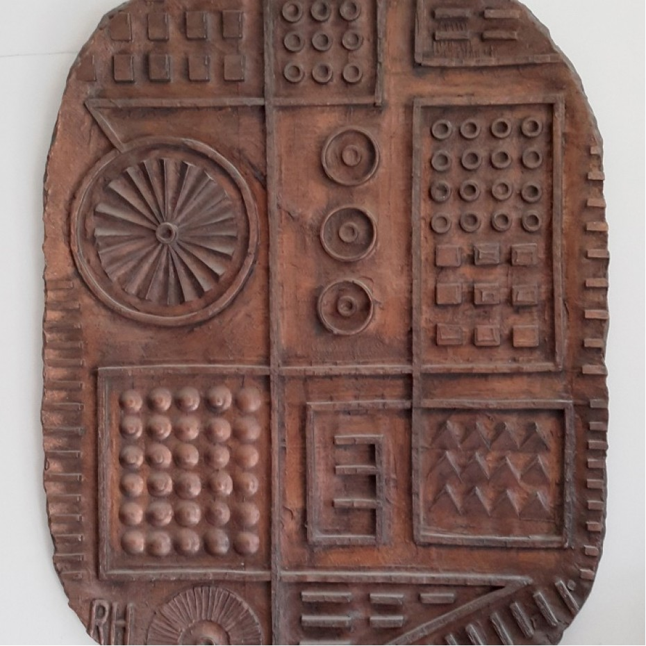 Ron Hitchins - An abstract relief