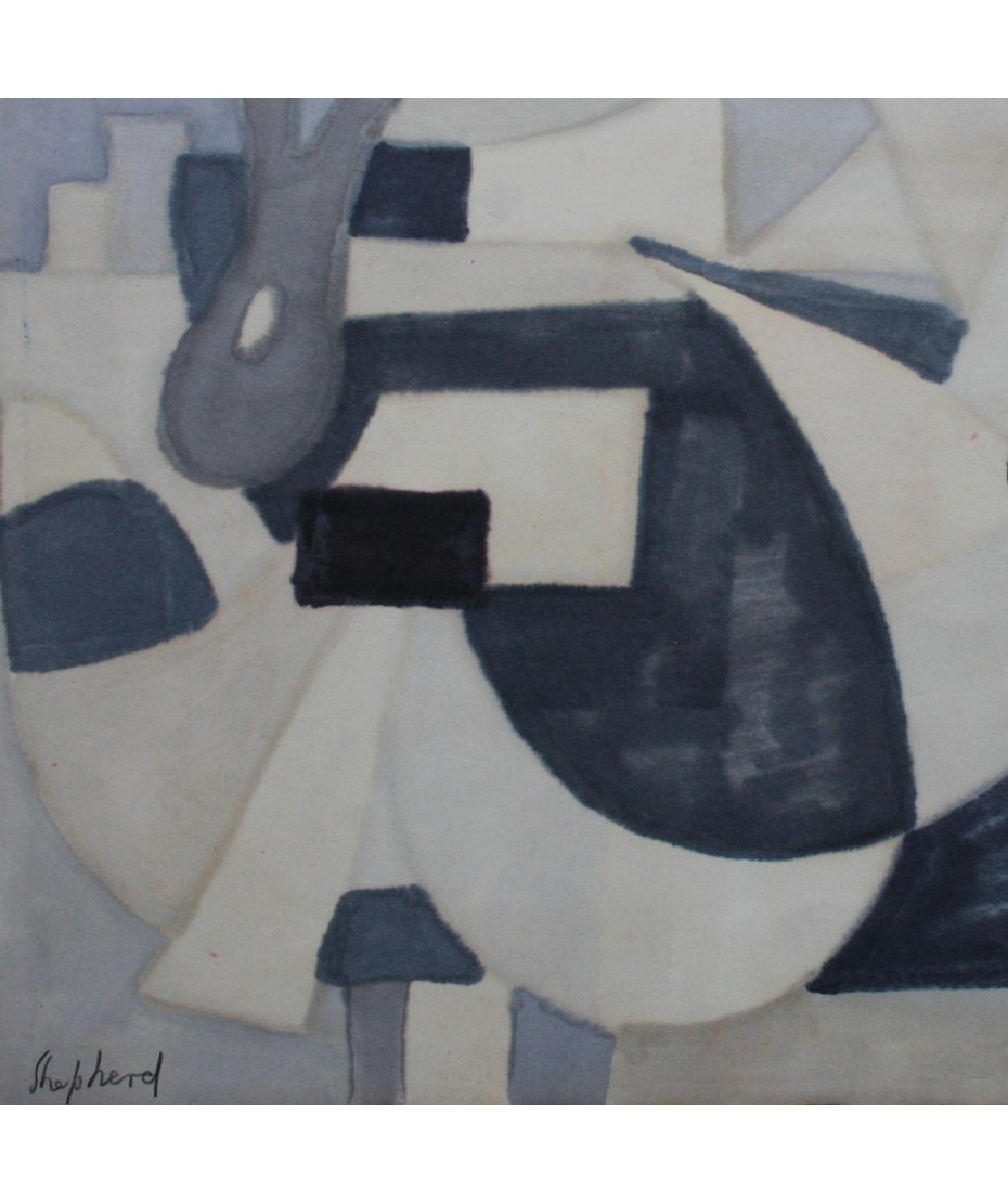 S Horne Shepherd - Untitled Abstract Two