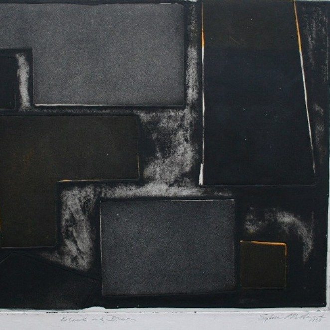 Sylvia Melland - Black and Brown