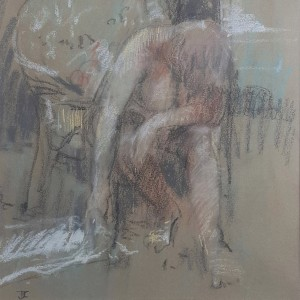 Tom Coates - Seated Nude
